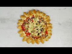 Αφράτη ζύμη πίτσας με γεμιστή κόρα για μπουφέ σε γιορτή, παιδικό πάρτι! - Daddy-Cool.gr