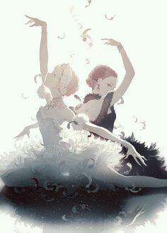 Lake swans El Lago de los Cisnes Princess Swan Black Swan Enchanted Princess