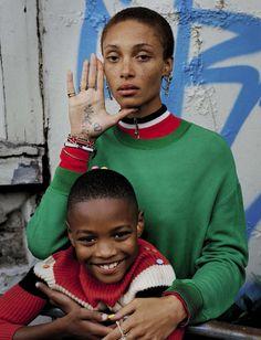 Adwoa Aboah by Tim Walker for Vogue Italia December 2015 8