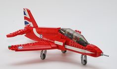 The Red Arrows Hawk by M4 CUS and RAFRed10 is the latest project to achieve 10,000 on LEGO Ideas.