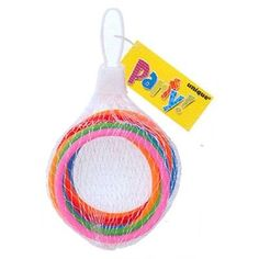 8 Plastic BRACELETS - Party Loot Bag Fillers/Favours/Toy/Kids/Assorted Colours