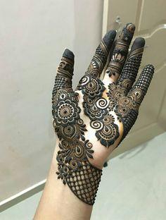Rose Mehndi Designs, Modern Mehndi Designs, Mehndi Designs For Girls, Wedding Mehndi Designs, Mehndi Designs For Fingers, Dulhan Mehndi Designs, Latest Mehndi Designs, Hand Mehndi, Arabic Mehndi
