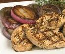 Grilled Onion Cilantro Turkey