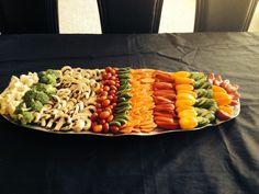 Vegetable Tray great presentation