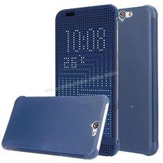 HTC One A9 Dot view Akıllı Kılıf Mavi -  - Price : TL33.90. Buy now at http://www.teleplus.com.tr/index.php/htc-one-a9-dot-view-akilli-kilif-mavi.html