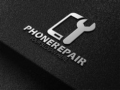 Phone repair logo by essegraphic on logo графический дизайн Mobile Phone Logo, Mobile Phone Shops, Mobile Phone Repair, Design Café, Logo Design, Mobile Shop Design, Phone Store, Iphone Repair, Shop Logo