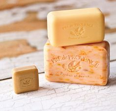 French Quad Milled Soap, enriched with Shea Butter