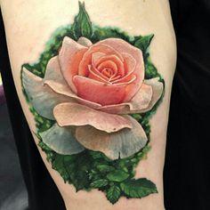 Liz Cook Floral Tattoo
