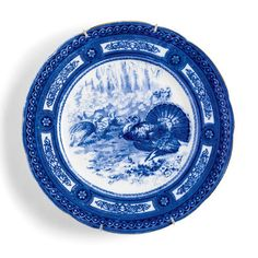 Turkey Plate Special: Royal Doulton Turkey Plate