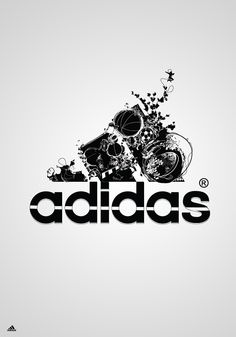 adidas graphics  the contrast makes it great