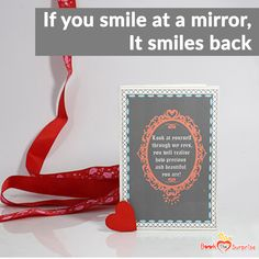 Show your beloved how precious and beautiful they are to you with The Magic Mirror and let it do the magic. Magic Mirror, Surprise Gifts, Bts, Cards, Beautiful, Maps, Playing Cards