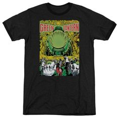 """Checkout our #LicensedGear products FREE SHIPPING + 10% OFF Coupon Code """"Official"""" Green Lantern / Gl #200 Cover - Adult Heather Ringer - Green Lantern / Gl #200 Cover - Adult Heather Ringer - Price: $34.99. Buy now at https://officiallylicensedgear.com/green-lantern-gl-200-cover-adult-heather-ringer"""