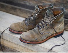 Resoled Red Wing Iron Rangers