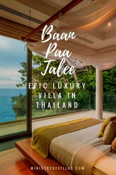 Nine bedrooms, epic ocean views, huge pool, media room and an army of dedicated staff… Baan Paa Talee is not just a villa - this is like your own private resort. Click through to discover one of the most luxurious villas in Thailand.