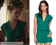 Jane the Virgin: Season 2 Episode 5 Petra's Green Romper
