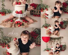 first birthday party idea Smash Cake First Birthday, Baby Cake Smash, One Year Birthday, Baby Birthday, Birthday Ideas, Cake Smash Photography, Birthday Photography, Bebe 1 An, 1st Birthday Photoshoot