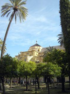 Córdoba Patio de los Naranjos  © Robert Bovington https://bovingtoninspain.wordpress.com/2015/12/13/mezquita-catedral-de-cordoba/