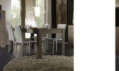 Table de salle à manger contemporaine TOSCANE, disponible en 2 dimensions