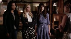 """S6 Ep12 """"Charlottes Web"""" - #PLLIntervention is serious business. #PrettyLittleLiars"""