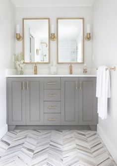 Small bathrooms may seem like a difficult design task to take on; however, these spaces may introduce a clever design challenge to add to your plate. Creating a functional and storage-friendly…MoreMore  #RemodelingIdeas