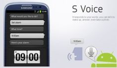 Now, other Androids can fun for the S-Voice feature, Samsung galaxy S III has many advantages and unique features in it but one feature that makes this phone more attractive is that the S-Voice