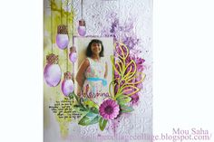 Created by Mou Saha for the Sizzix Pinterest Challenge for September