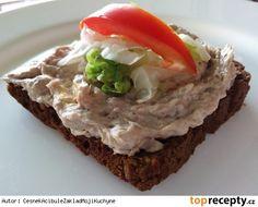 Rybičková pomazánka ze sardinek