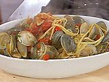 Rachael Ray's Linguine with red clam sauce is awesome!