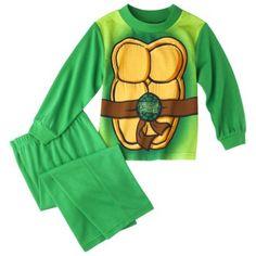 Teenage Mutant Ninja Turtles Toddler Boys' 2-Piece Long-Sleeve Pajama Set w/ Cape TARGET