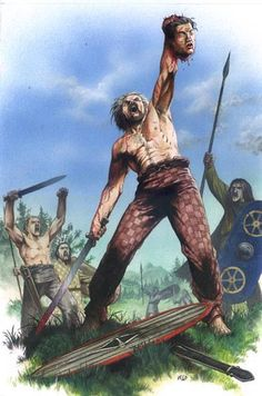 Victorious Celtic warrior Northern Italy 280 BC