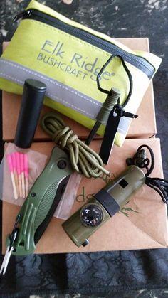 Waterproof survival kit by Elk Ridge.