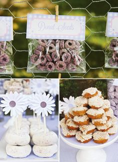 Pretty Purple Daisy & Donut Birthday Party // Hostess with the Mostess® Donut Birthday Parties, Donut Party, 1st Birthday Girls, Birthday Celebration, Birthday Ideas, Purple Birthday, Happy Birthday, Kid Parties, 11th Birthday