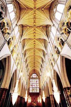 Inside Westminster Abbey - London, England