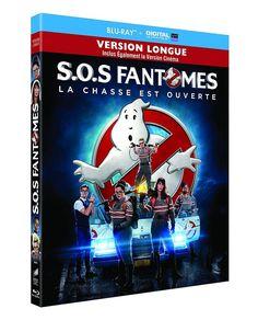SOS Fantômes  Blu-ray version longue + Copie digitale  NEUF