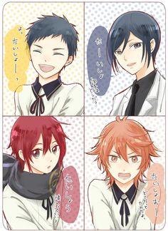 Manga Art, Anime Art, Nikkari Aoe, Touken Ranbu Characters, Anime Family, Manga Characters, Bungou Stray Dogs, Doujinshi, Anime Guys