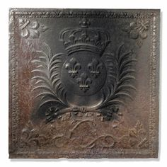 Sothebys.com: A CAST IRON FIRE BACKFRENCH, 18TH CENTURY Estimate 2,500 — 3,500 USD LOT SOLD 5,100 USD