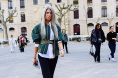 Best Red and Green Street Style Looks of 2015