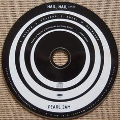 Pearl Jam-rare Hail Hail Mexico promo only cd single free ship