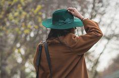 Green floppy hat - Liquorish