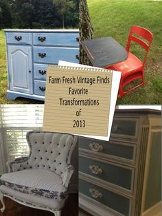 Favorite Transformations of 2013 - Farm Fresh Vintage Finds