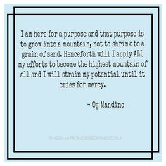 51 Best Og Mandino Quotes Images Og Mandino Quotes Positive Words