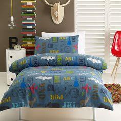 Kids House Alpha Quilt Cover Set   Spotlight Australia