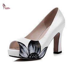 RUGAI-UE Mode d'été occasionnels Chaussures Femmes Sandales talons PU confort,rouge,US4-4,5 / EU34 / UK2-2,5 / CN33 - Chaussures rugai ue (*Partner-Link)