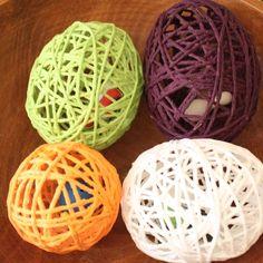 yarn easter egg tutorial