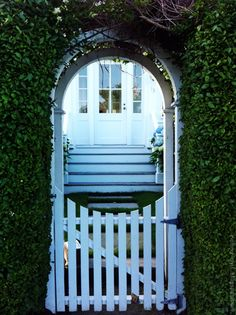 My idea of a white picket fence