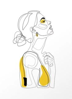 """Color Beauty"" by Explicit Design . - ""Color Beauty"" by Explicit Design . -You can find Art girl and more on our website.""Color Beauty"" by Explicit Design . Art And Illustration, Illustrations, Arte Sketchbook, Beauty Art, Face Beauty, Grafik Design, Minimalist Art, Drawing Sketches, Line Drawings"