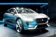 Jaguar introduces its first electric concept car