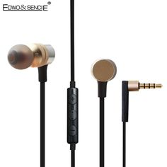 Edwo ES-20TY Stereo Earphone Super Bass In-ear 3.5mm Jack Sport Headset With Microphone fone de ouvido For iPhone Samsung LG HTC #Affiliate