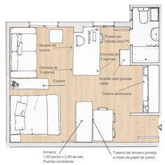 IMG_0068 studio apartment - misma mesa para la tele y para el escritorio