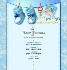 1000 images about reborn baby auction templates on for Boy birth certificate template